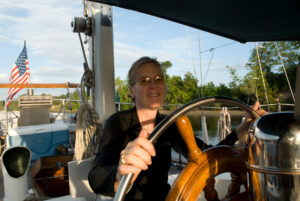 sheree at helm - image