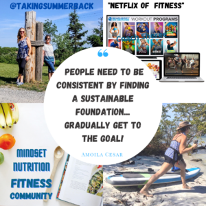 online fitness coaching - image