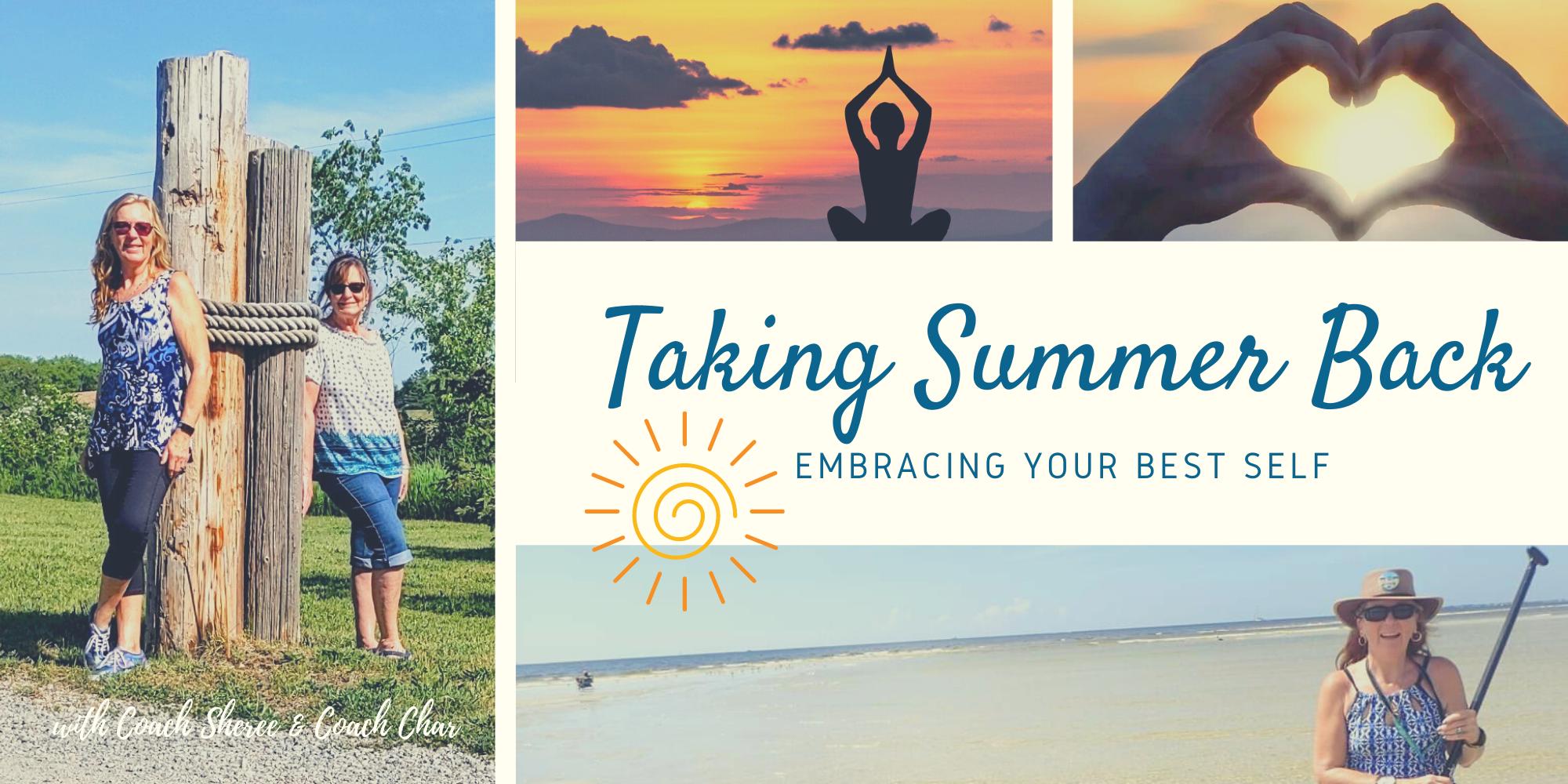 taking summer back facebook group banner - image